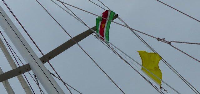 No spang in Suriname