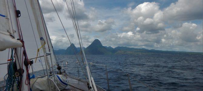 De pitons van St Lucia